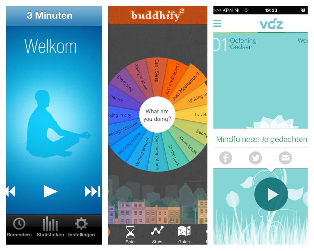 Mindfulness apps Het Centrum van Zijn